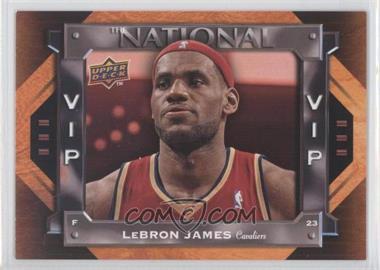 2009 Upper Deck National Convention - VIP #VIP-3 - Lebron James