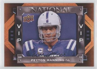 2009 Upper Deck National Convention - VIP #VIP-9 - Peyton Manning