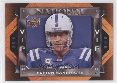 2009 Upper Deck National Convention VIP #VIP-9 - Peyton Manning