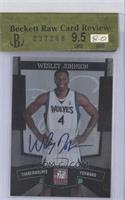Wesley Johnson /25 [ENCASED]