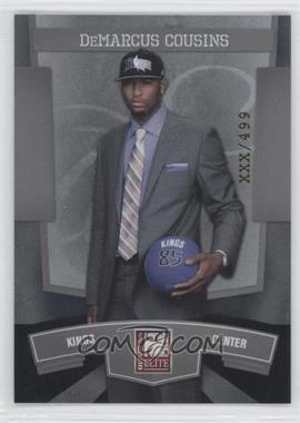 2010 Donruss Elite National Convention #25 - DeMarcus Cousins /499