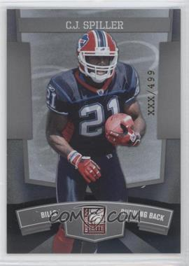 2010 Donruss Elite National Convention #5 - C.J. Spiller /499