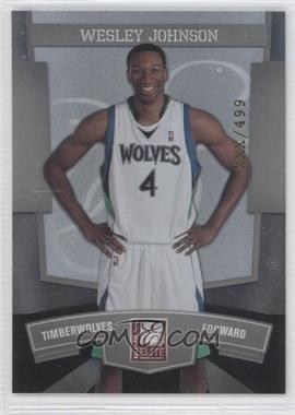 2010 Donruss Elite #40 - Wesley Johnson /499
