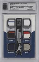 Sammy Solis, Hank Aaron, Alex Rodriguez, Barry Bowden /9