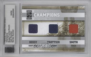 2010 Famous Fabrics First Edition Champions Silver #06 - Bobby Smith /9