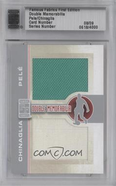 2010 Famous Fabrics First Edition Double Memorabilia Silver #08 - [Missing] /9