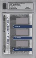 Johnny Damon, Manny Ramirez, David Ortiz /9