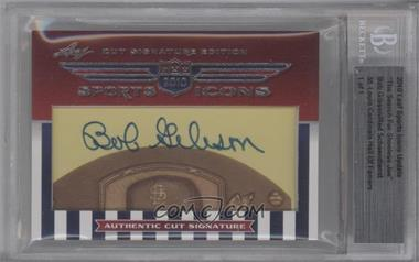 2010 Leaf Sports Icons Update: The Search for Shoeless Joe #BGRS - Bob Gibson /1