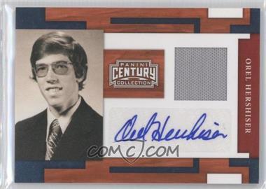 2010 Panini Century Collection - [Base] - Materials Jerseys Signatures [Autographed] [Memorabilia] #36 - Orel Hershiser /50