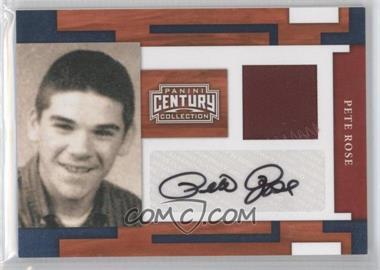 2010 Panini Century Collection - [Base] - Materials Jerseys Signatures Prime [Autographed] [Memorabilia] #35 - Pete Rose /40