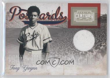 2010 Panini Century Collection - Postcards Materials #16 - Tony Gwynn /250