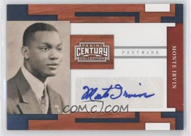 2010 Panini Century Collection - Postmark Signatures - Silver #39 - Monte Irvin /250