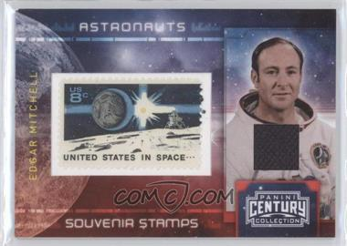 2010 Panini Century Collection - Souvenir Stamps Astronauts - 8 Cent Earth/Lunar Lander Stamp Materials [Memorabilia] #2 - Edgar Mitchell /100
