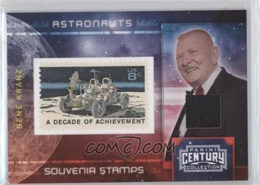 2010 Panini Century Collection - Souvenir Stamps Astronauts - 8 Cent Moon Rover Stamp Materials [Memorabilia] #9 - Gene Kranz /100