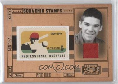 2010 Panini Century Collection - Souvenir Stamps Baseball - 6 Cent Professional Baseball 1869-1969 Stamp Materials [Memorabilia] #24 - Pete Rose /100