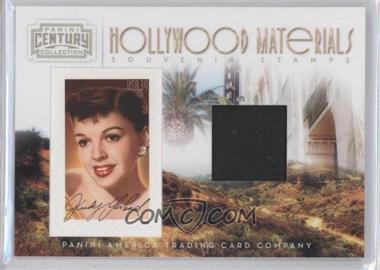 2010 Panini Century Collection - Souvenir Stamps Hollywood Materials #21 - Judy Garland /250