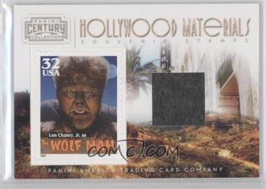 2010 Panini Century Collection - Souvenir Stamps Hollywood Materials #22 - Lon Chaney Jr. /50