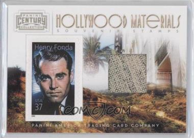 2010 Panini Century Collection - Souvenir Stamps Hollywood Materials #6 - Henry Fonda /250