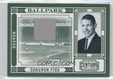 2010 Panini Century Collection Ballpark Materials [Memorabilia] #13 - Carlton Fisk /15