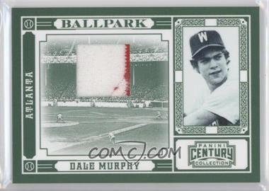2010 Panini Century Collection Ballpark Materials [Memorabilia] #8 - Dale Murphy /99