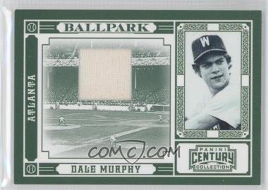 2010 Panini Century Collection Ballpark Materials [Memorabilia] #8 - Dale Murphy /99