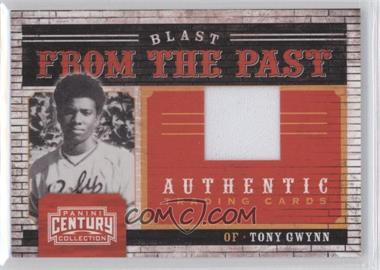 2010 Panini Century Collection Blast from the Past Materials Jerseys #8 - Tony Gwynn /250