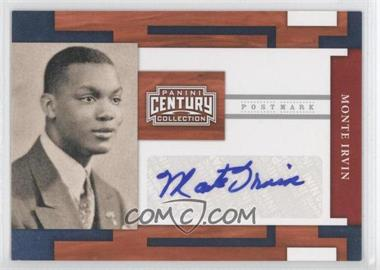 2010 Panini Century Collection Postmark Signatures Silver #39 - Monte Irvin /250