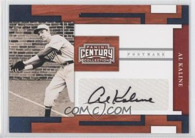 2010 Panini Century Collection Postmark Signatures Silver #44 - Al Kaline /250