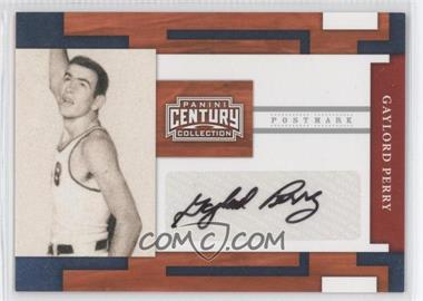 2010 Panini Century Collection Postmark Signatures Silver #71 - Gaylord Perry /250