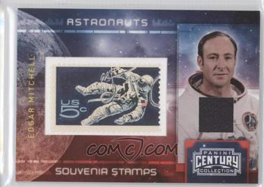 2010 Panini Century Collection Souvenir Stamps Astronauts 5 Cent Stamp Materials [Memorabilia] #2 - Edgar Mitchell /250