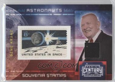 2010 Panini Century Collection Souvenir Stamps Astronauts 8 Cent Earth/Lunar Lander Stamp Materials [Memorabilia] #9 - Gene Kranz /100