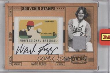 2010 Panini Century Collection Souvenir Stamps Baseball 6 Cent Professional Baseball 1869-1969 Stamp Material Signatures [Autographed] [Memorabilia] #33 - Wade Boggs /10