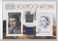 Grace Kelly, Jimmy Stewart /250