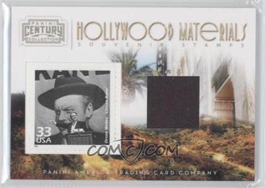 2010 Panini Century Collection Souvenir Stamps Hollywood Materials #1 - Orson Welles /250