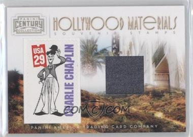 2010 Panini Century Collection Souvenir Stamps Hollywood Materials #12 - Charlie Chaplin /250