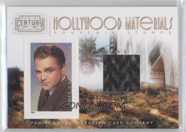 2010 Panini Century Collection Souvenir Stamps Hollywood Materials #14 - James Cagney /250