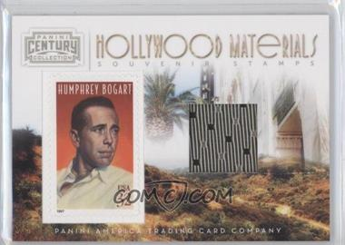 2010 Panini Century Collection Souvenir Stamps Hollywood Materials #2 - Humphrey Bogart /250