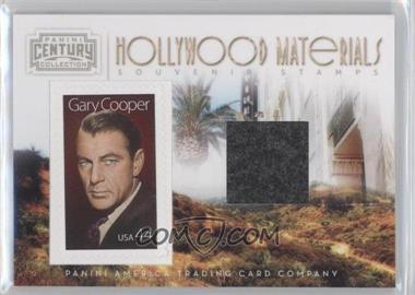 2010 Panini Century Collection Souvenir Stamps Hollywood Materials #35 - Gary Cooper /250