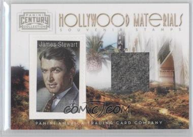 2010 Panini Century Collection Souvenir Stamps Hollywood Materials #5 - Jimmy Stewart /250