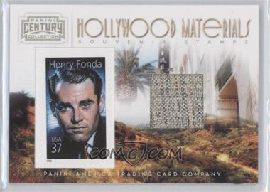 2010 Panini Century Collection Souvenir Stamps Hollywood Materials #6 - Henry Fonda /250
