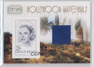 2010 Panini Century Collection Souvenir Stamps Hollywood Materials #7 - Grace Kelly /250