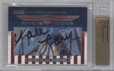 2010 Razor Sports Icons Cut Signature Edition [???] #YALA - Yale Lary /7