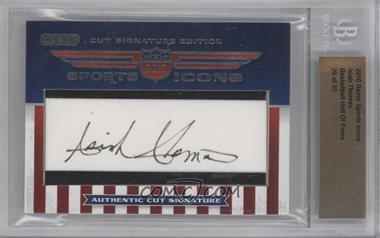 2010 Razor Sports Icons Cut Signature Edition Authentic Cut Signature #ISTH - Isiah Thomas /35 [BGS AUTHENTIC]