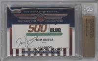 Tom Sneva, Lyn St. James /1 [BGS AUTHENTIC]