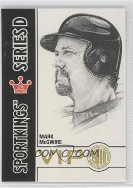 2010 Sportkings - National Convention VIP Series D #VIP-16 - Mark McGwire
