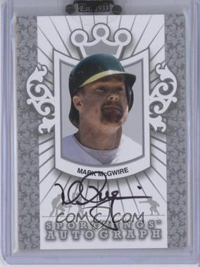 2010 Sportkings Series D - Autographs - Silver #A-MMC2 - Mark McGwire