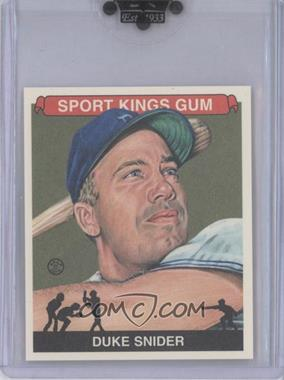 2010 Sportkings Series D - [Base] - Mini #162 - Duke Snider