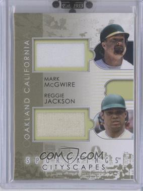 2010 Sportkings Series D - Cityscapes Double - Silver #CSD-06 - Reggie Jackson /19