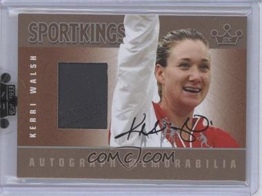 2010 Sportkings Series D Autograph - Memorabilia Silver #AM-KWA1 - [Missing]