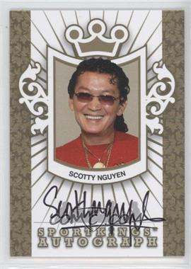 2010 Sportkings Series D Autographs Gold #A-SN1 - Scotty Nguyen